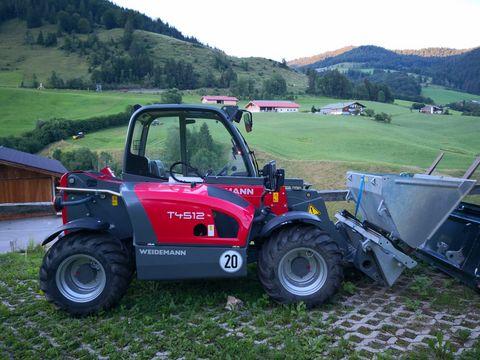Weidemann T 4512 CC 40 Neuwertig mit Euroaufnahme & Breitr