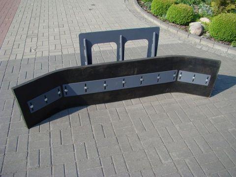 Fuchs Gummischieber für Hoflader & FL 150 - 300 cm NEU