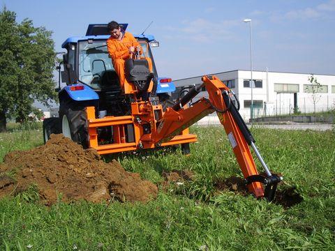 Tifermec Heckbagger T13-100 Jetzt zu Aktionspreisen! NEU!