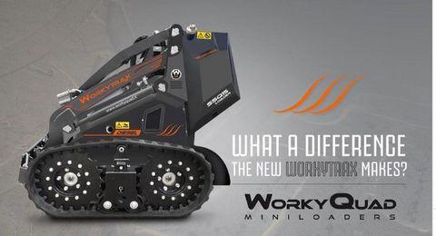 Cast SSQ Workytrax Minilader mit Kettenfahrwerk