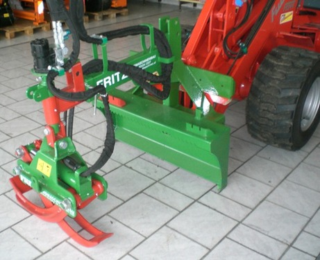 Fritz Oststeirer Holzzange für alle Hoflader und Traktoren