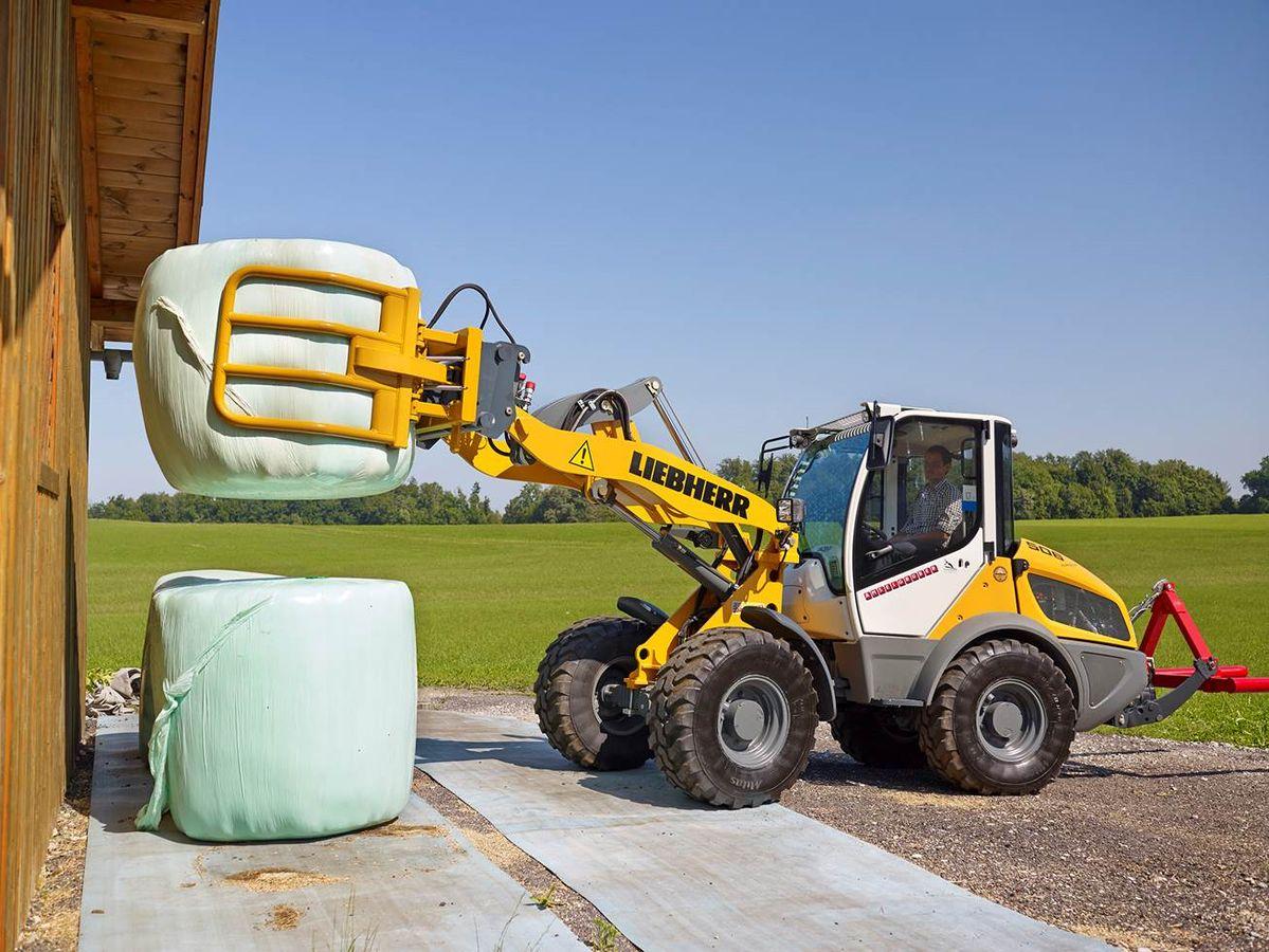 liebherr l 506 compact agrar mit werkzeug kabine. Black Bedroom Furniture Sets. Home Design Ideas