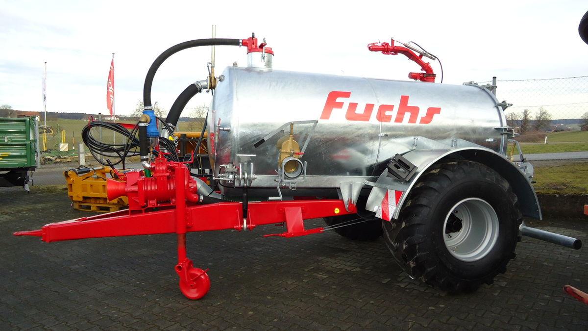 Fuchs Vakuumfass Vk 5 Alpin Breitverteiler