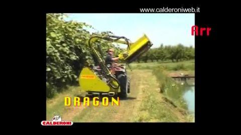 Egyéb Calderoni Dragon  Böschungsmulcher