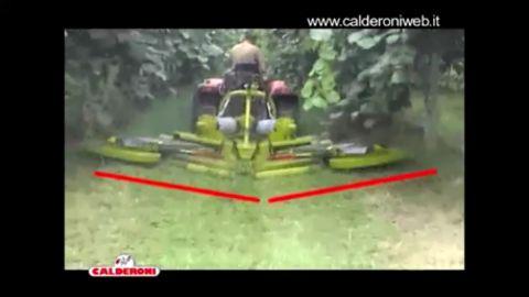 Egyéb Calderoni Airone sor és soraljkasza/Mulchgerät