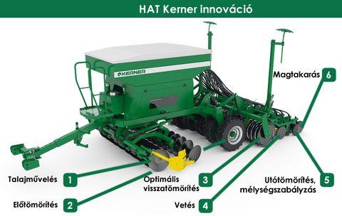 Egyéb Kerner EROS EA 600 direktvetőgép
