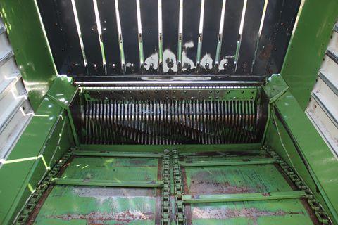 Krone ZX 470 GD mit Messerschleifeinrichtung