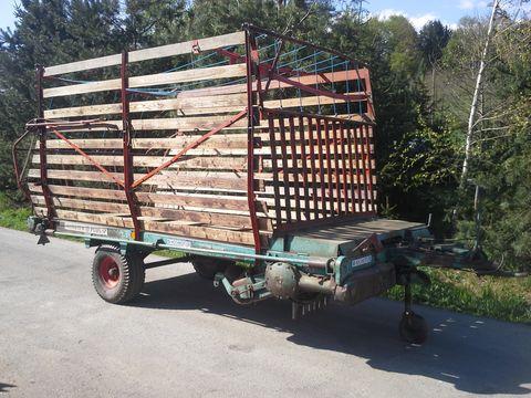 Steyr Hamster 17 Ladewagen