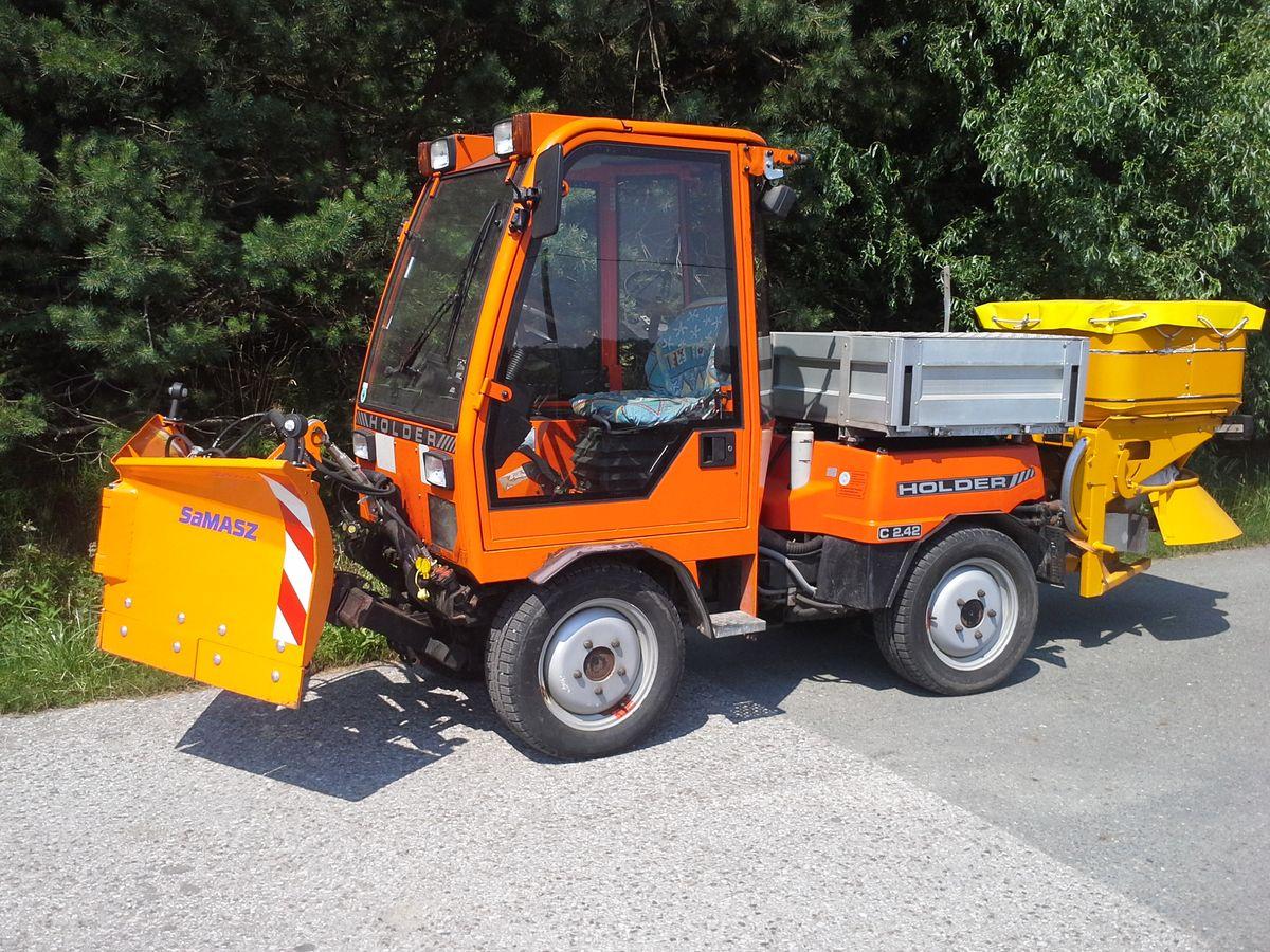 gebrauchter holder traktor spezial - landwirt