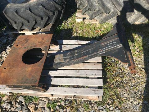 Sonstige Anbauplatte mit Unterzug