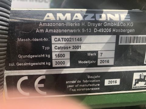 Amazone Scheibenegge