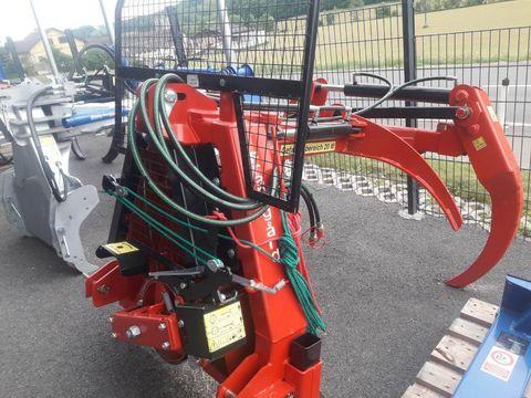 Fransgard Rückezange VHZ 2300 mit Seilwinde