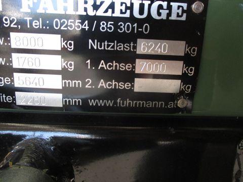 Fuhrmann Einachskipper FF 8.000