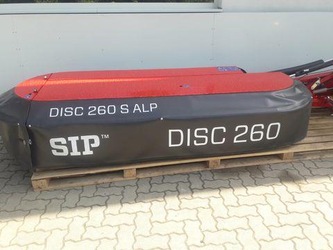 SIP Scheibenmähwerk Disc 260 S Alp