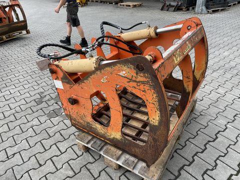 Parmiter Silozange 1,0m mit Weidemann MV 2 Zylinder