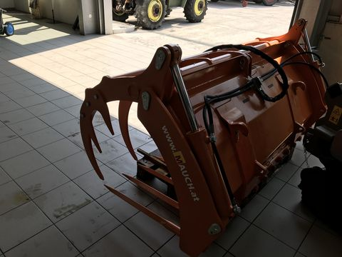 Hauer Silogreifgabel/Silogreifschaufel 2m