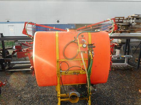 Jessur 700l, 12m Balken, hydraulischer Hangausgleich