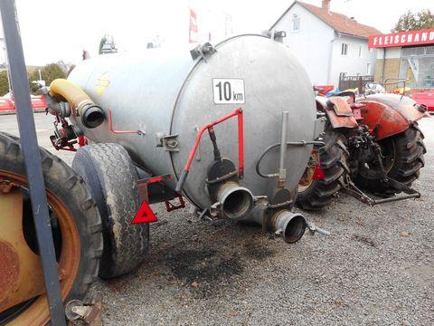 """Pühringer 4000l verzinkt, 6"""" hydraulischer Schieber"""