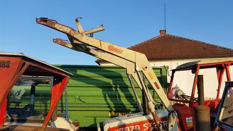 Hauer Abstellfrontlader MH 80