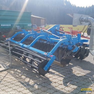 Agro Star Scheibenegge 4 Meter mit Packerwalze