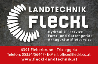 Fleckl Landtechnik e.U., Firmeninhaber Robert Fleckl
