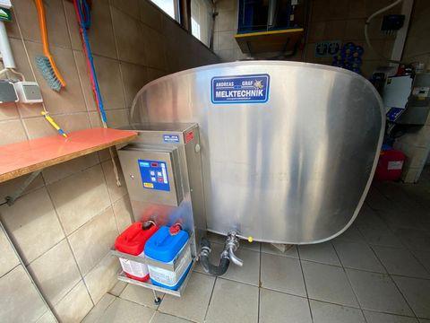 Etscheid Kühltank KT3100 m. Reinigung AWE