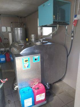 Etscheid Kühltank KT1250 m. Reinigung AW500