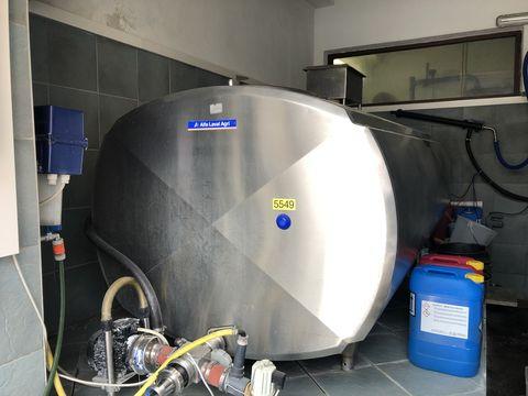 Alfa Laval Kühltank KT1800 m. Aggregat u.