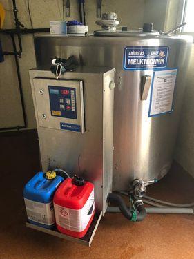 Etscheid Kühltank RT960 m. Reinigung