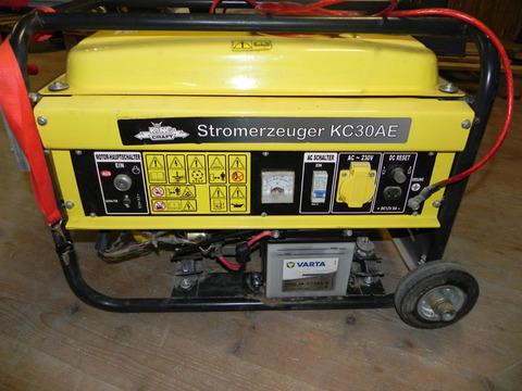 King Craft gebrauchtes King Craft KC30AE Stromaggregat