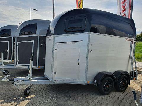 Böckmann Pferdeanhänger Champion Esprit silver + black