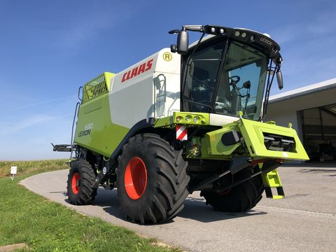 Claas Lexion 630 (Stage IV)