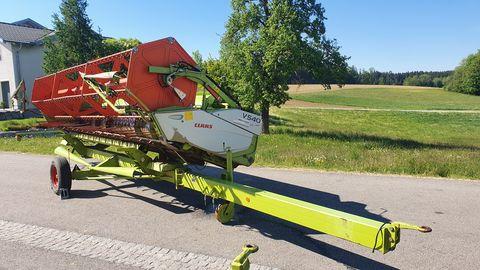 Claas V540 + Schneidwerkswagen