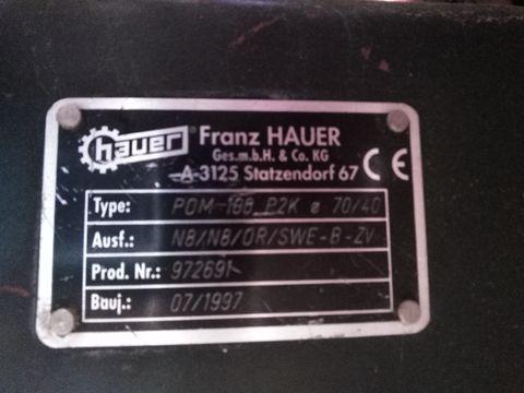 Hauer POM 100 Rahmenlader