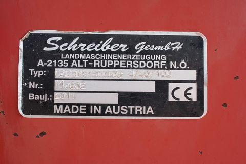 Schreiber Volldrehpflug 4/40/100