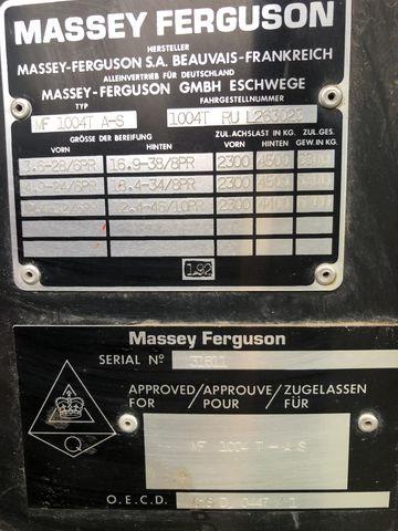 Massey Ferguson 1004 T