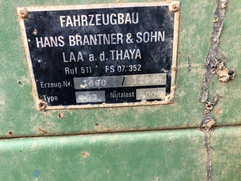Brantner Miststreuer, 4.000kg Nutzlast