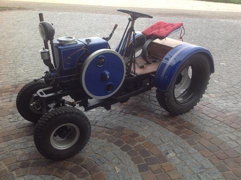 Traktor Eigenbau