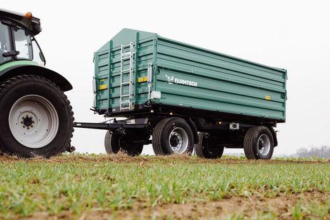 Farmtech ZDK-1500 kéttengelyes pótkocsi (15t) készletről