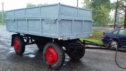Egyéb PM 4 típusú kéttengelyes pótkocsi