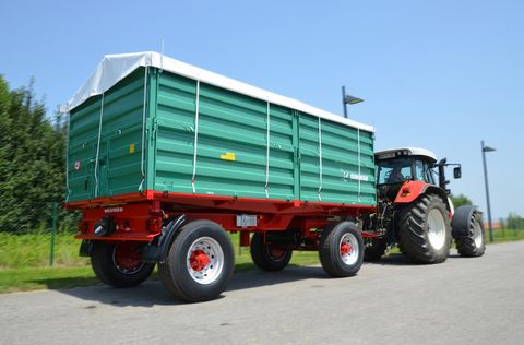 Farmtech ZDK-1800 kéttengelyes pótkocsi (20t) készletről