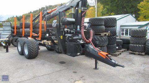 BMF 14T2 Triebachsanhänger + BMF 850 HP