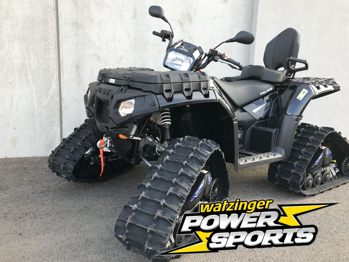 polaris sportsman xp 1000 touring mit raupen. Black Bedroom Furniture Sets. Home Design Ideas