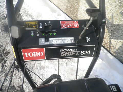 Toro Schneefräse Power Shift 824