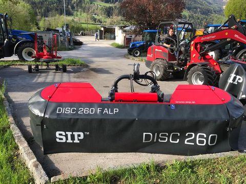 SIP Frontmähwerk DISC 260F Alp