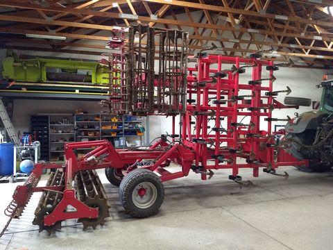 Agri Farm Eurocult 2 - 6 m Aufsattel Leichtgrubber