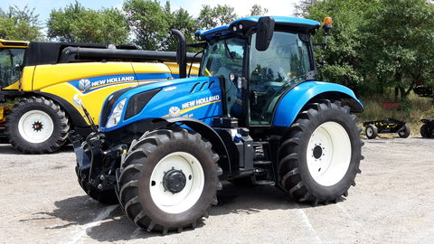 New Holland T6.155 SideWinder II