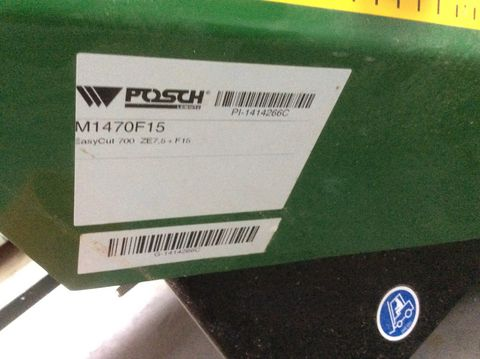 Posch Posch Easy Cut 700 ZE7,5 + F 15