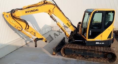 Hyundai Robex 80CR-9A