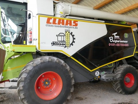 CLAAS Tucano 420 Allrad + C540 klappbar